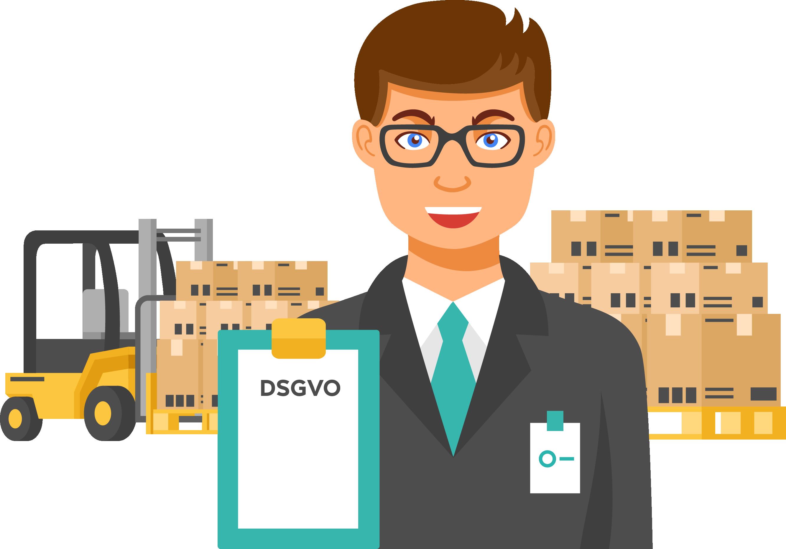 Datenschutz Logistik Unternehmen