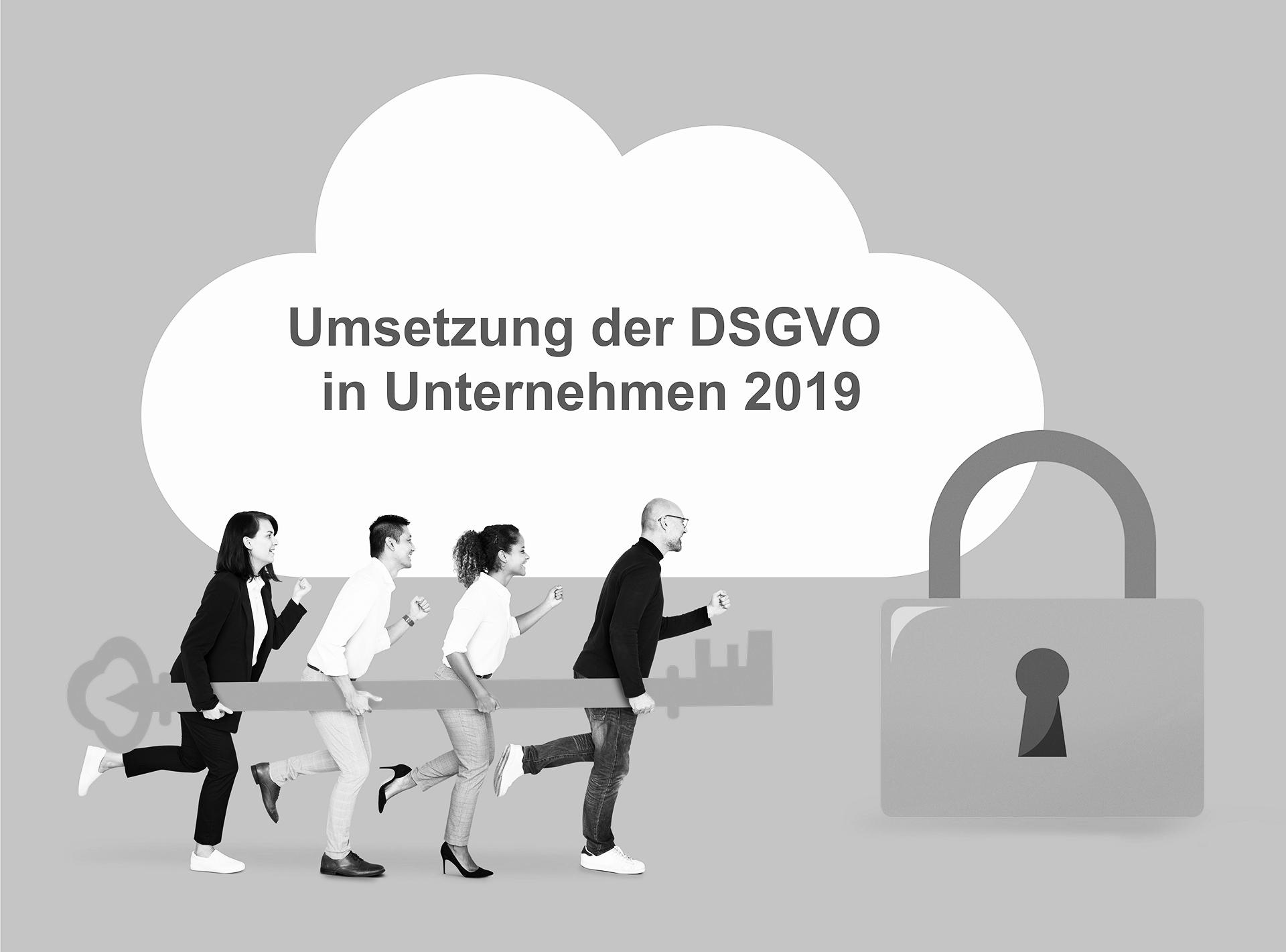 Status der Umsetzung der DSGVO in Unternehmen